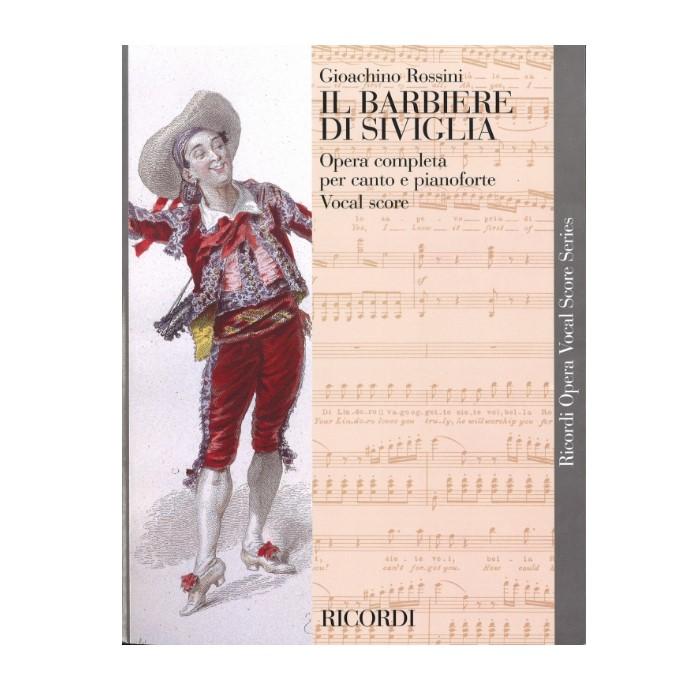 輸入楽譜 数量限定 値引き オペラ 歌劇 セビーリャの理髪師 Il Barbiere di Siviglia