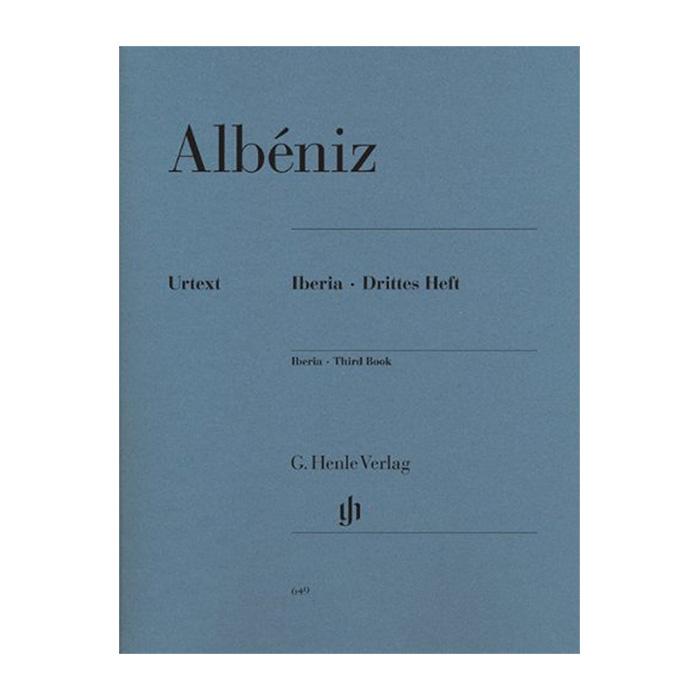 輸入楽譜 ピアノ アルベニス イベリア第3集 3 Heft 入荷予定 Iberia セール
