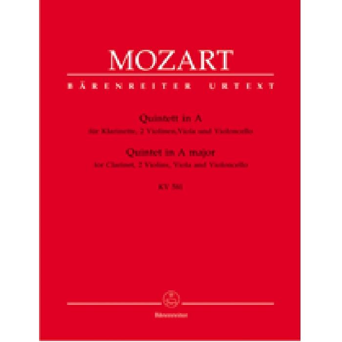 セール開催中最短即日発送 輸入楽譜 室内楽 室内楽楽譜 クラリネット五重奏曲イ長調 Quintet KV 581 2Vn 未使用 Cl A 1789 Vc in Va