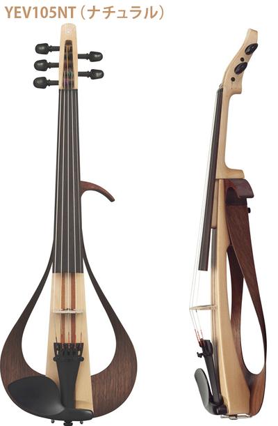 ヤマハ エレキヴァイオリン YEV105[5弦モデル]【店頭受取対応商品】