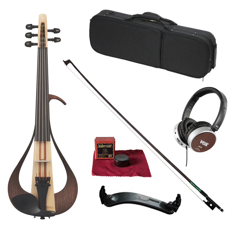 ヤマハ エレクトリックバイオリン YEV105(5弦モデル)練習セット【送料無料】