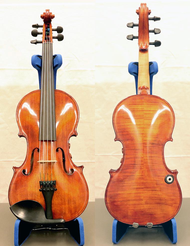 エレクトリックヴァイオリン The Realist RV5Pe[5弦モデル]【店頭受取対応商品】