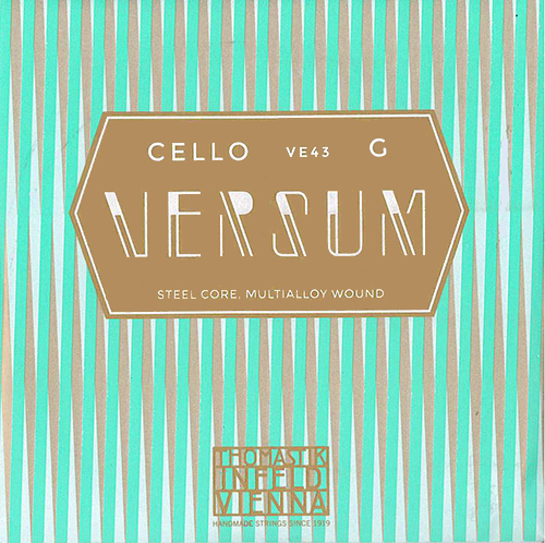 チェロ弦 VERSUM(ヴェルサム/バーサム)G ※メール便対応【店頭受取対応商品】