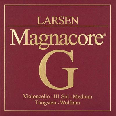 【メール便送料無料】チェロ弦 LARSEN Magnacore(ラーセン マグナコア)G【店頭受取対応商品】
