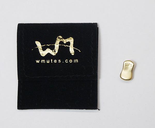 機能的かつエレガントな革命的ミュート Wmutes 価格 Concert ダブルミュート コンサート 気質アップ ヴァイオリン用 マットフィニッシュ※メール便対応 メール便送料無料 ゴールド