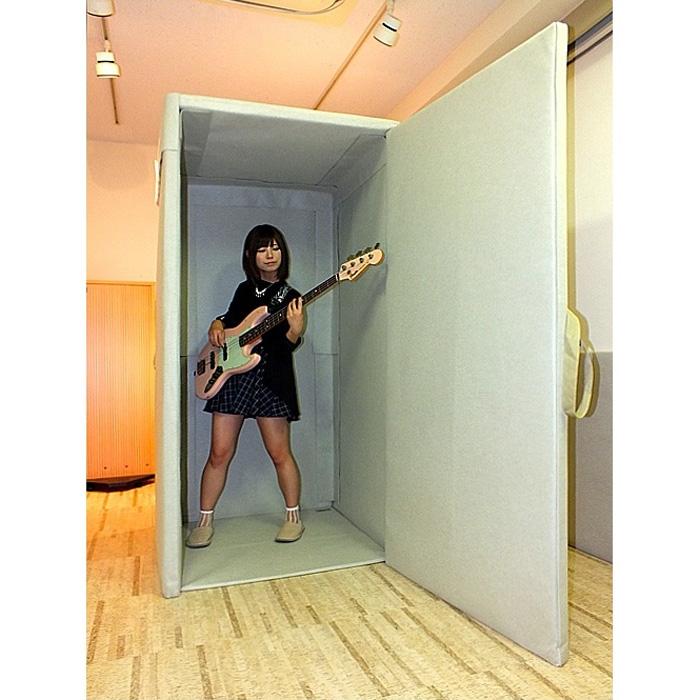 VERY-Q VQP960 Short Booth Set(防音タイプ)[簡易防音室セットグレー]