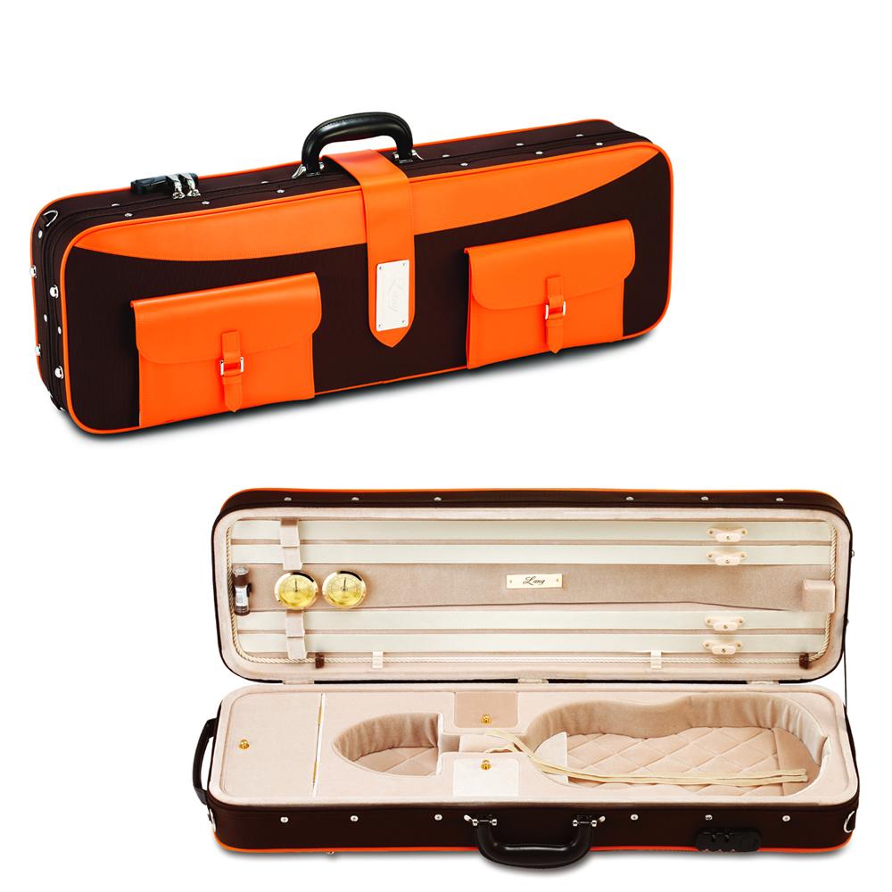 ヴァイオリンケース Lang(ラング)CK-P99(チョコブラウン×ベージュ)【店頭受取対応商品】
