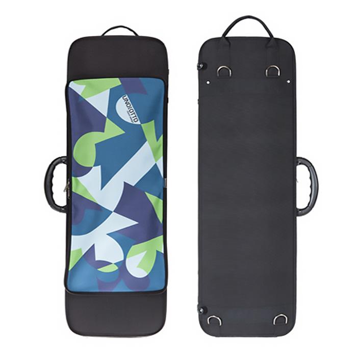 送料無料 スリムで軽量 使い勝手抜群のケース ヴァイオリンケース MR4 無料サンプルOK ポケット付き UNOEOTTO ウーノエオット 卓越