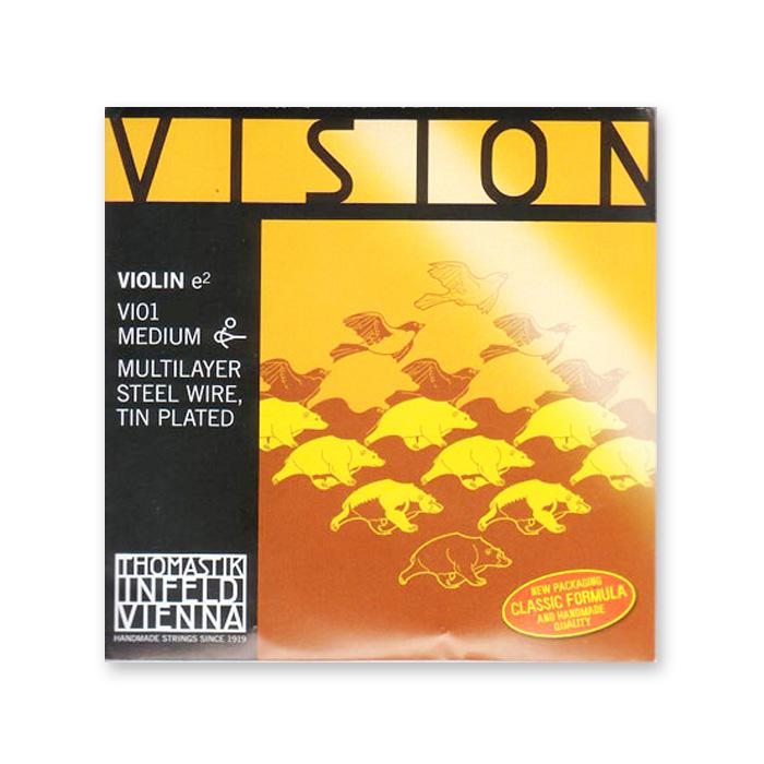 リーズナブルなナイロン弦 ヴァイオリン弦 即日出荷 VISION ヴィジョン 10サイズ用 1 新品未使用正規品 ※メール便対応 E