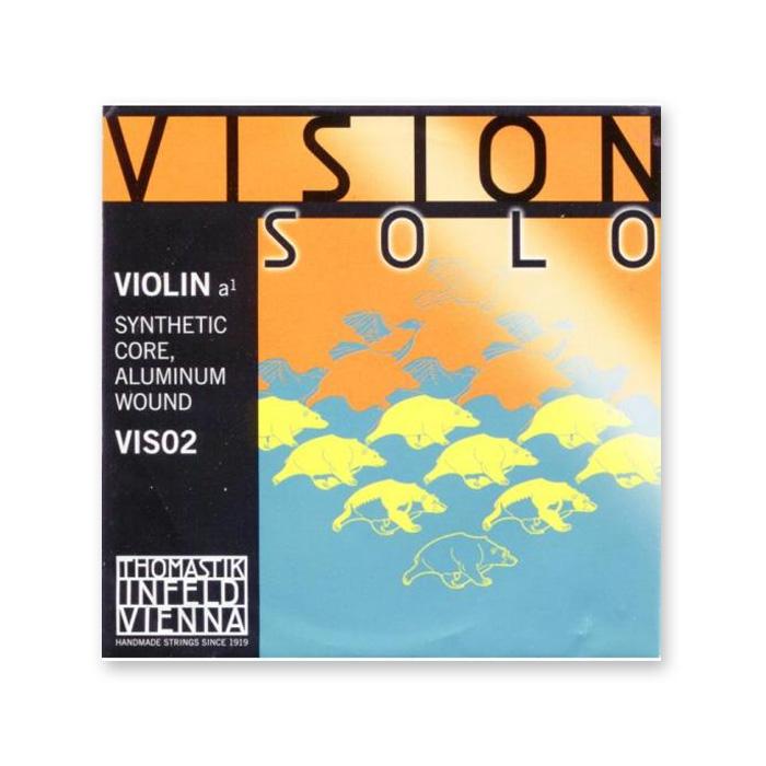ヴィジョンシリーズのソロ向け弦 ヴァイオリン弦 与え VISION SOLO 年末年始大決算 ※メール便対応 ヴィジョンソロ A