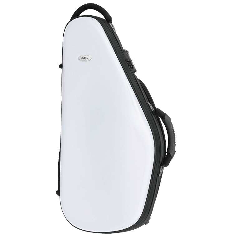 【在庫有り!!】☆新色☆ bags バッグス アルトサックス ケース ホワイト ※送料無料