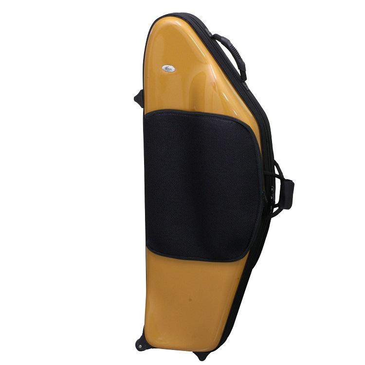 キャスター リュックストラップ付き WEB限定 お取り寄せ bags バッグス ケース 直送商品 バリトンサックス メタリックゴールド ※送料無料
