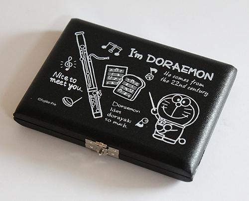 ドラえもんのひみつ道具がデザインされたリードケース I'm DORAEMON アイムドラえもん リードケース DFG-5 5枚収納 ファゴット 安全 有名な