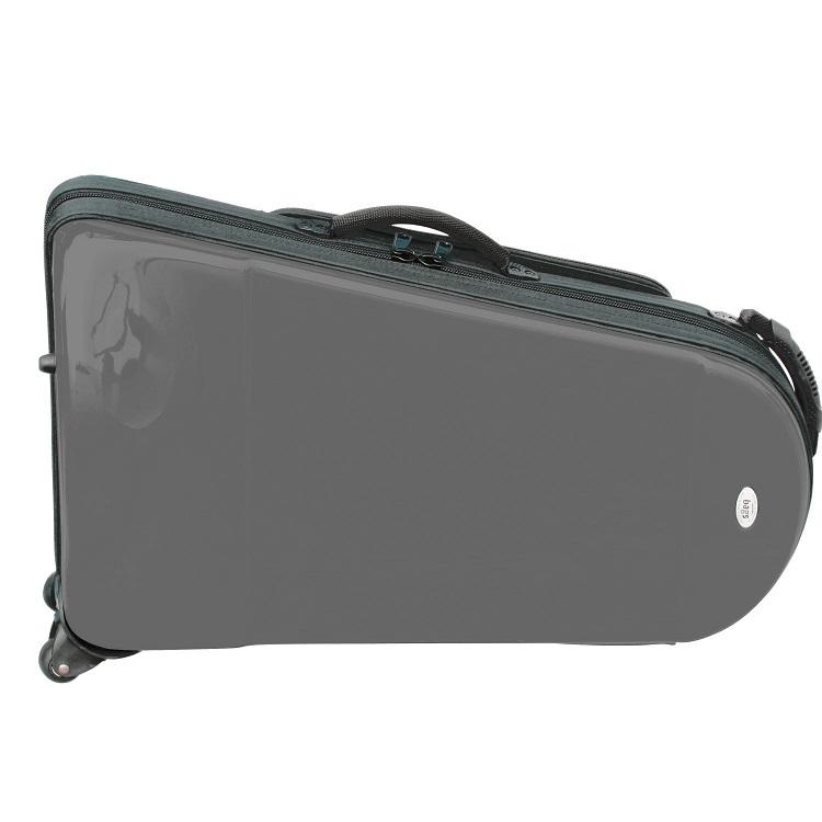 bags バッグス ユーフォニアム ケース メタリックグレー