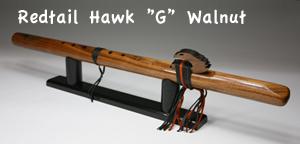 [インディアンフルート 上級者3点セット] Redtail Hawk
