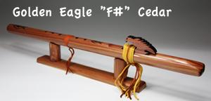 [インディアンフルート 上級者3点セット] Golden Eagle
