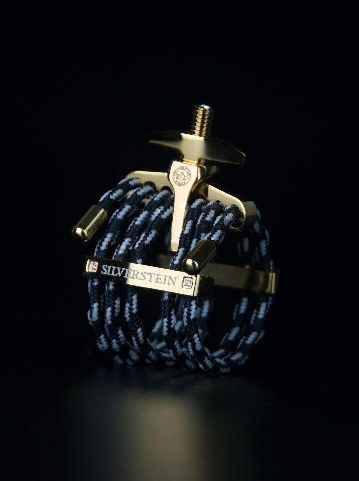 SILVERSTEIN シルバースタイン リガチャー [A-Frame] ESTRO Champagne Gold ※送料無料