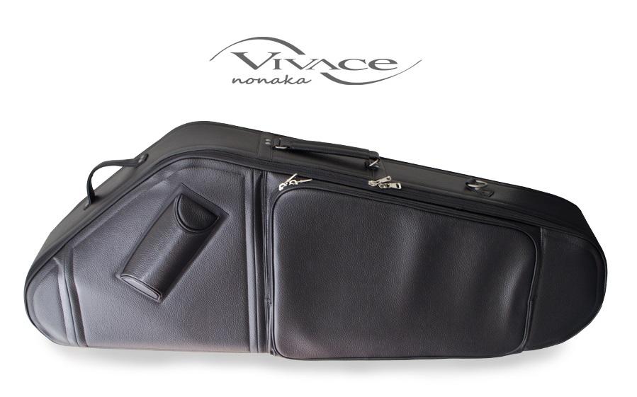 VIVACE ヴィヴァーチェ バリトンサックス ケース (セミハード) ブラック ※送料無料