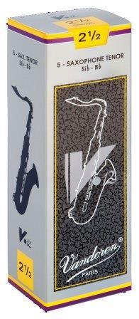 吹奏楽やクラシックの演奏におすすめ 登場大人気アイテム Vandoren バンドレン テナーサックス V12 3 銀箱 超特価SALE開催 リード