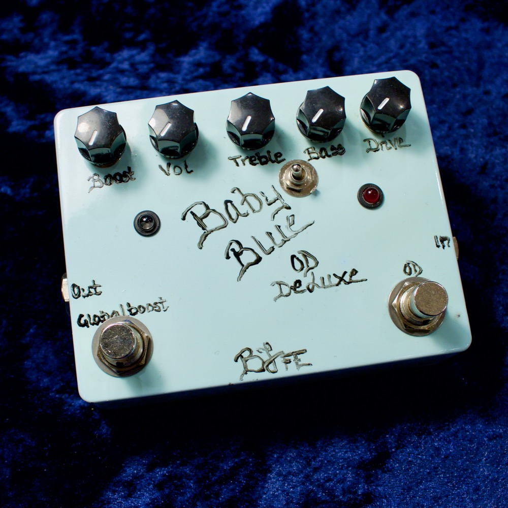 BJF Electronics/Baby Blue Overdrive Deluxe with Toggle Switch【在庫あり】【夏休みスペシャルフェア!7/23(木・祝)~8/23(日)まで!】