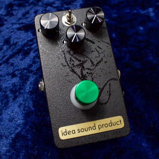 TS-808をIdeaの解釈でモダンにまとめあげた極上のドライブペダル 正規販売店 Idea お気にいる Sound Product ver.2 IDEA-TSX 在庫あり