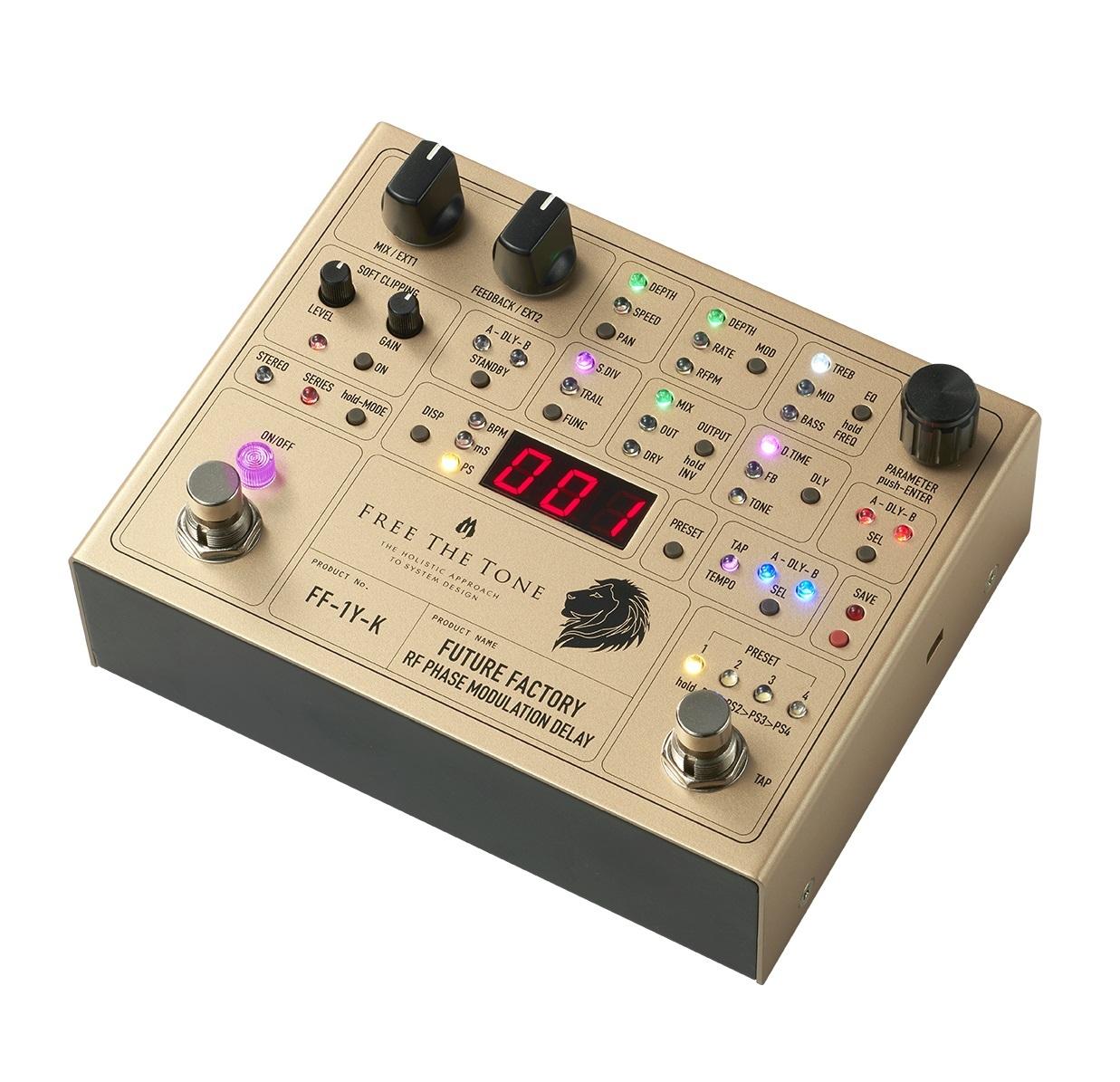 Free The Tone/FUTURE FACTORY FF-1Y-K【完全受注生産・ご予約受付中】