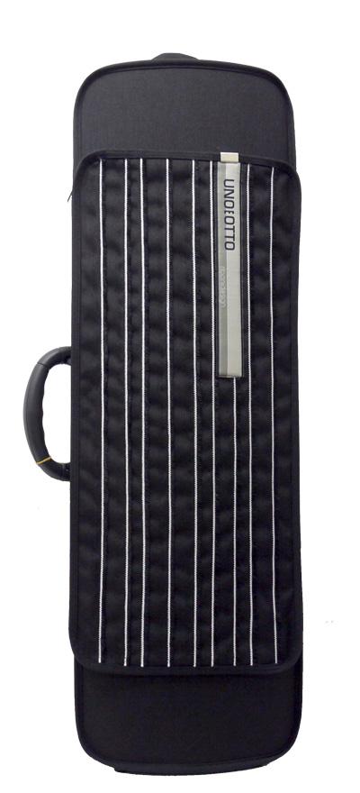 ヴァイオリンケース UNOEOTTO(ウーノエオット)ポケット付き・ブラック&ホワイト【店頭受取対応商品】