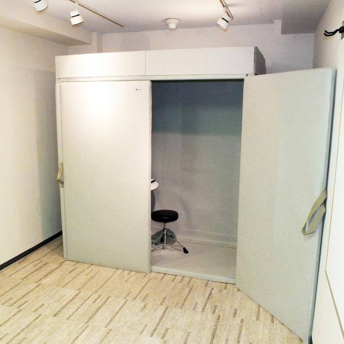 VERY-Q HQP1870 Booth Set[簡易防音室セットアイボリー]