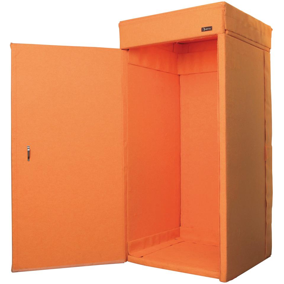 【新色オレンジ】VERY-Q TQP960 Booth Set[簡易防音室セット タンジェリン]
