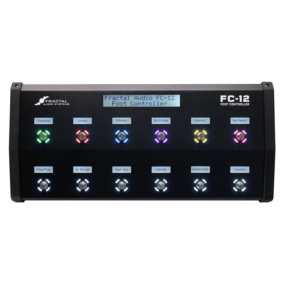 FRACTAL AUDIO SYSTEMS/FC-12 Foot Controller【入荷予定】【ご予約受付中】