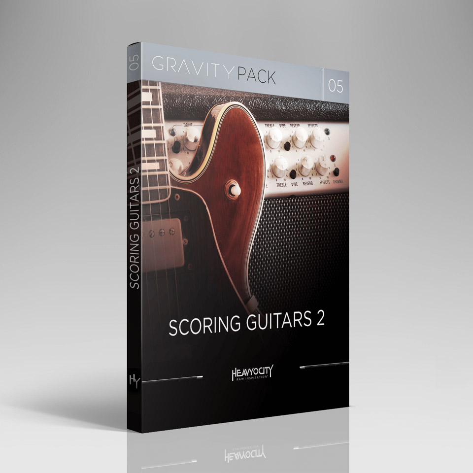 HEAVYOCITY/GRAVITY PACK 05 - SCORING GUITARS 2【オンライン納品】【在庫あり】