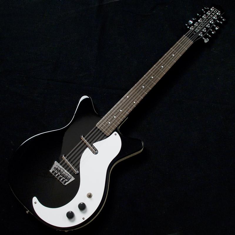 全国一律送料無料 1959年に登場したショートホーンの復刻モデル59に12弦が登場 Danelectro 正規激安 59 12 次回納期:2022年3月 ご予約受付中 Black Strings