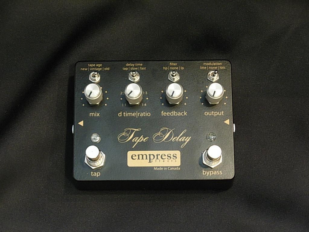 Empress Effects/ Tape Delay【テープエコー/ディレイ】【お取り寄せ商品】【2~3営業日お届け】