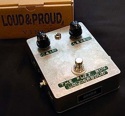 LOUD&PROUD/THE FUZZ BOXラウドアンドプラウド ファズボックス