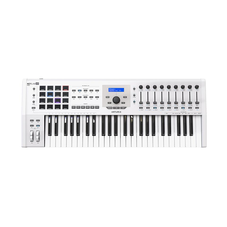 2019新作モデル ARTURIA/KEYLAB 49 MK 2 White, カホーPLUS 24c4212e