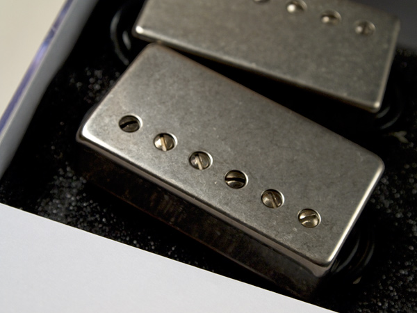 LOLLAR PICKUPS Low Wind Imperial Humbucker Pickups SET 4CON/L Aged | a  pickup