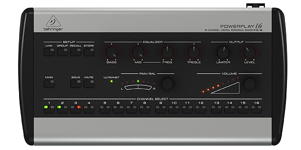 BEHRINGER/POWERPLAY 16 P16-M【在庫あり】