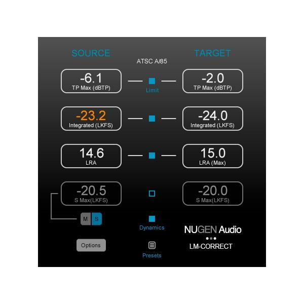 NuGen Audio/LM-Correct 2【オンライン納品】
