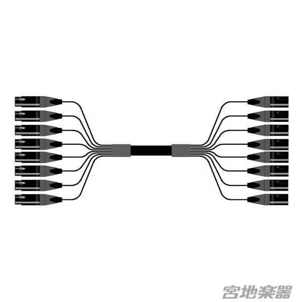 Mogami/2932 8ch XLRF-XLRM 4m