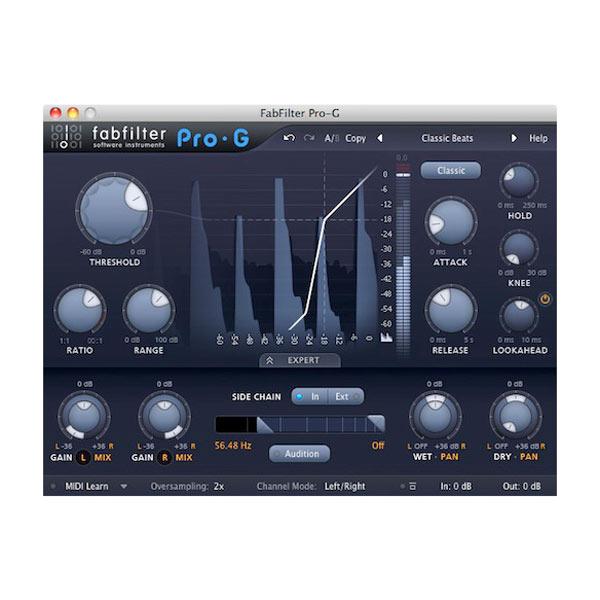 FabFilter/FabFilter Pro-G【オンライン納品】