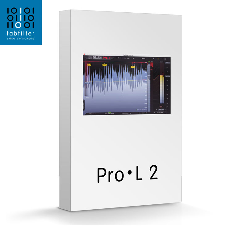 FabFilter/FabFilter Pro-L2【オンライン納品】