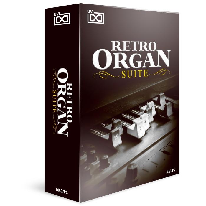 UVI/Retro Organ Suite【オンライン納品】