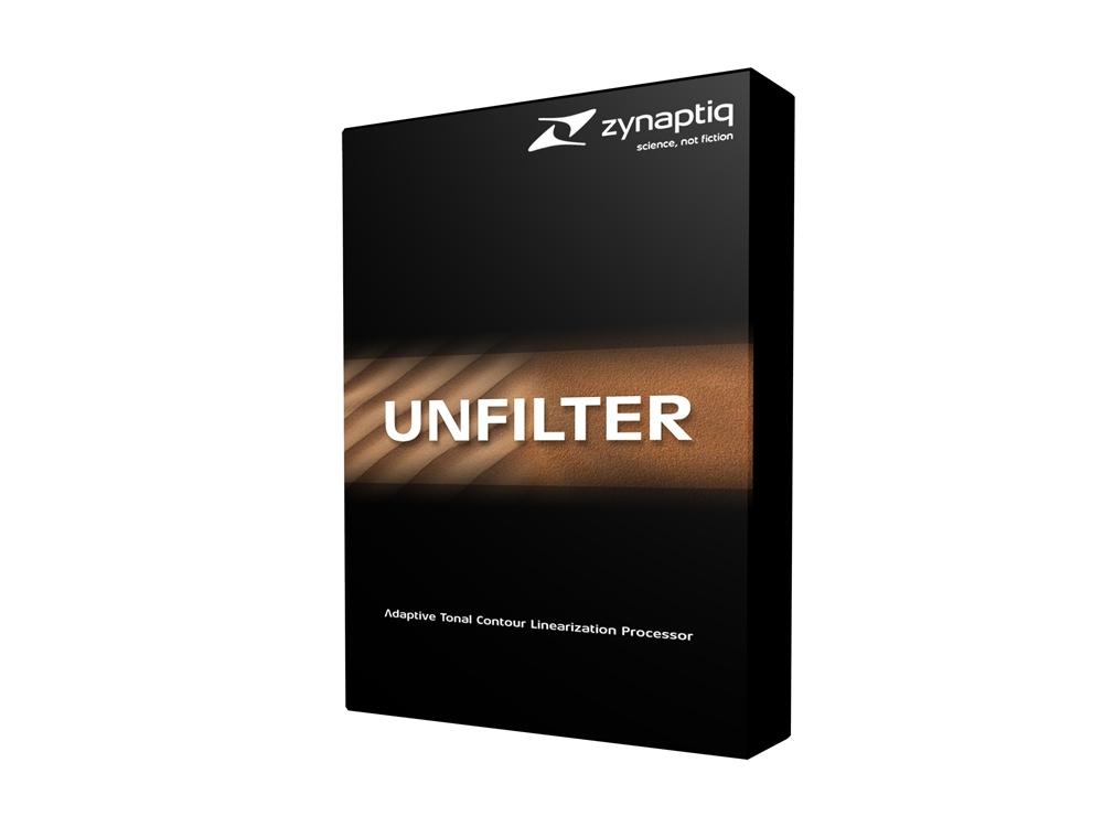 Zynaptiq/UNFILTER【オンライン納品】