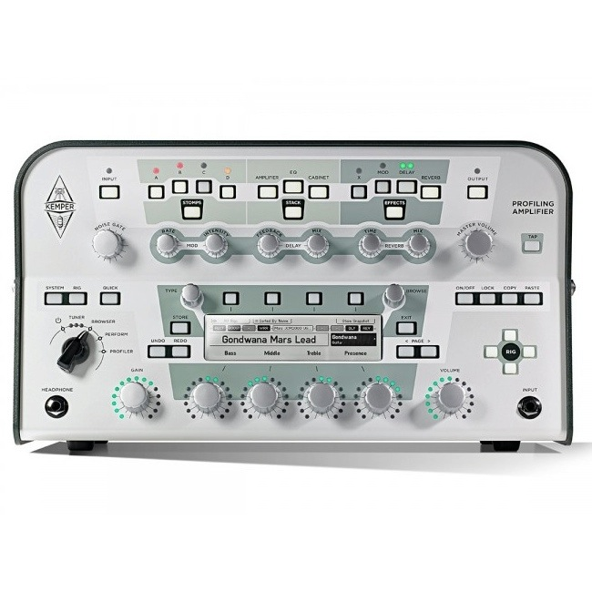 Kemper/Profiling Amplifier Head White