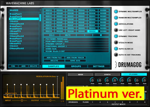 WaveMachine Labs/Drumagog 5 Piatinum
