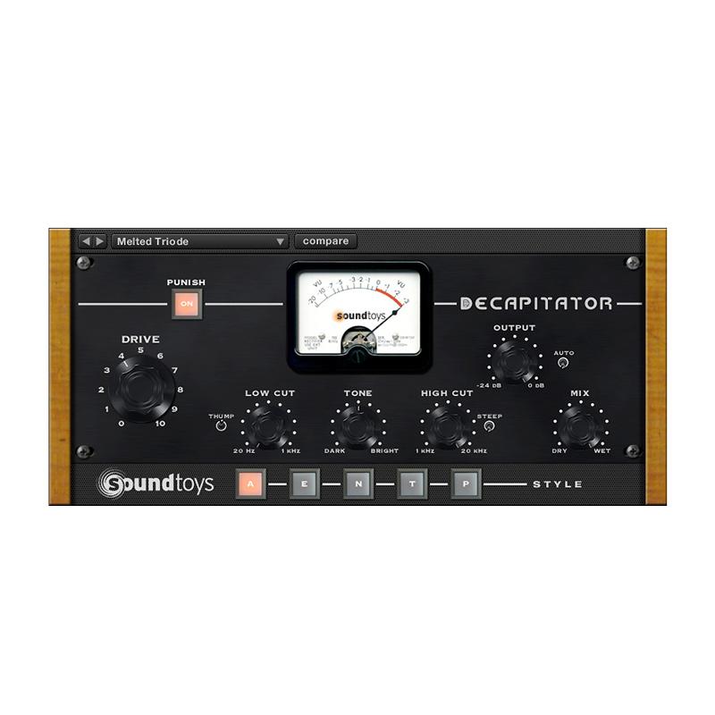 Sound Toys/Decapitator 5【オンライン納品】