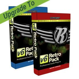 McDSP/Retro Pack Native v5 to Retro Pack Native v6【オンライン納品】