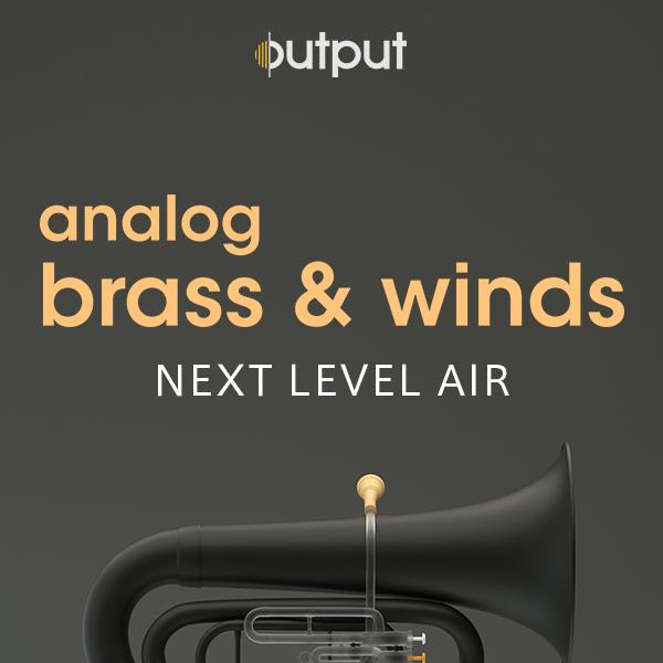 OUTPUT/ANALOG BRASS & WINDS【~8/16 期間限定特価キャンペーン】【オンライン納品】【在庫あり】