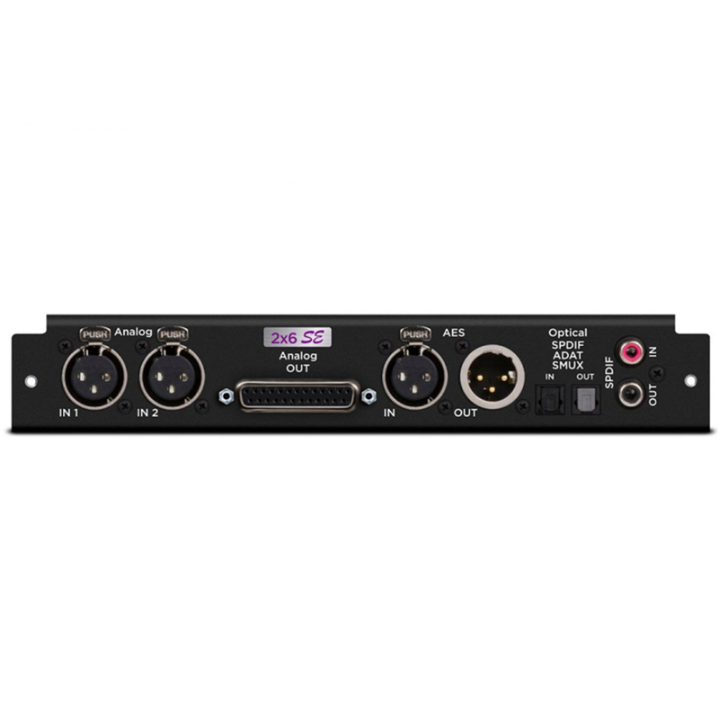 APOGEE/2 Analog Input + 6 Analog Output + 8X8 Optical + AES I/O + 2-ch SPDIF SE Quality Sound (SYM2 Only)