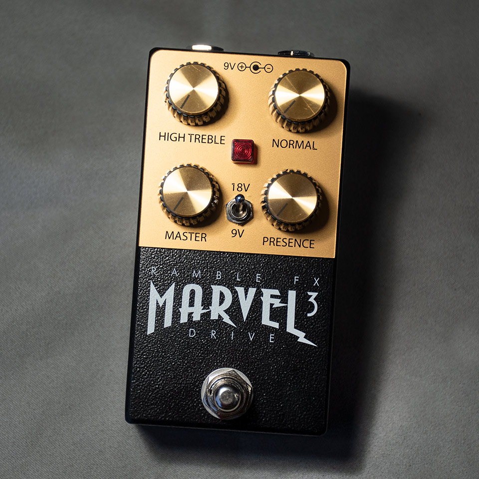 Ramble FX/Marvel Drive V3 Black【在庫あり】【再入荷!】【WTGセール!】